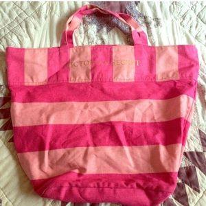 Pink Victoria's Secret Tote Bag